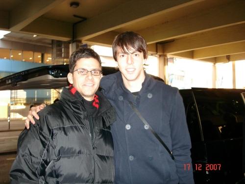 2007 Incontro con Kaka